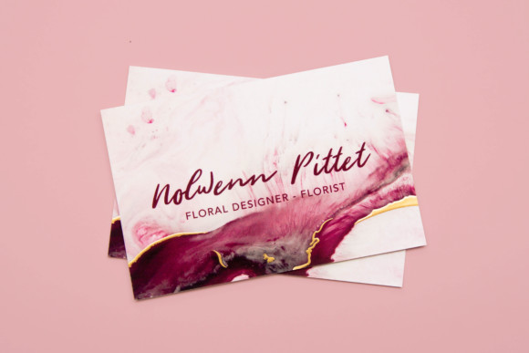 Business card – Nolwenn Pittet