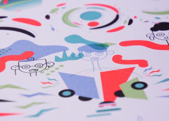 Worldskills poster by Robin Gillet & Sandy Champion