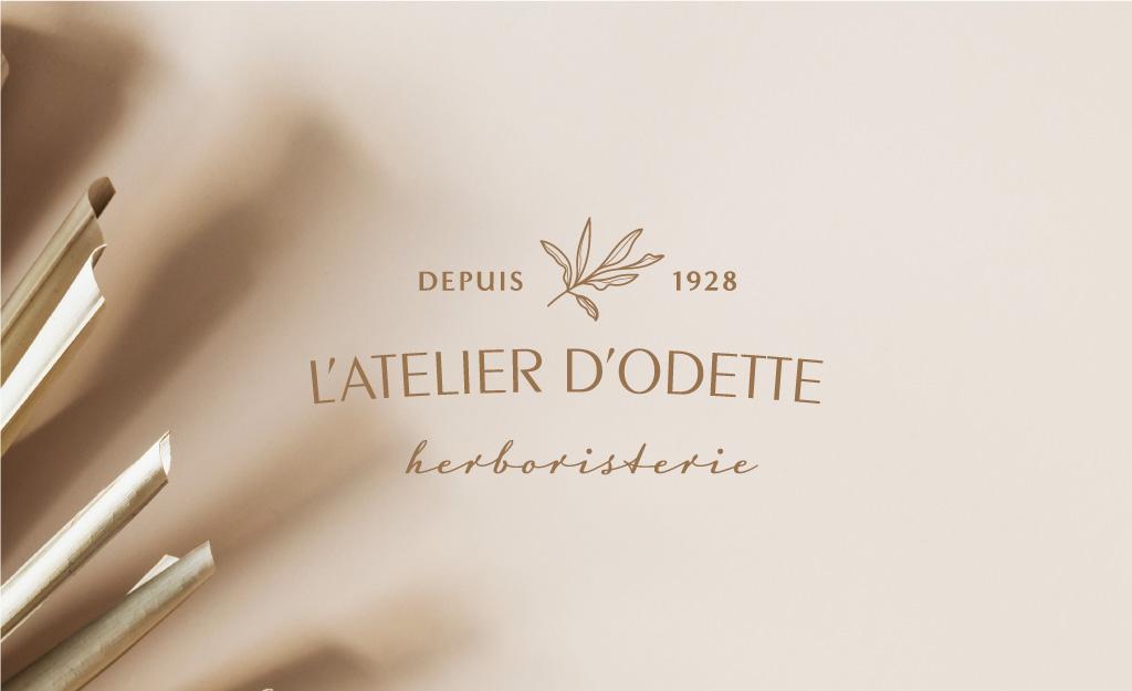 Atelier d'Odette herboristerie logo